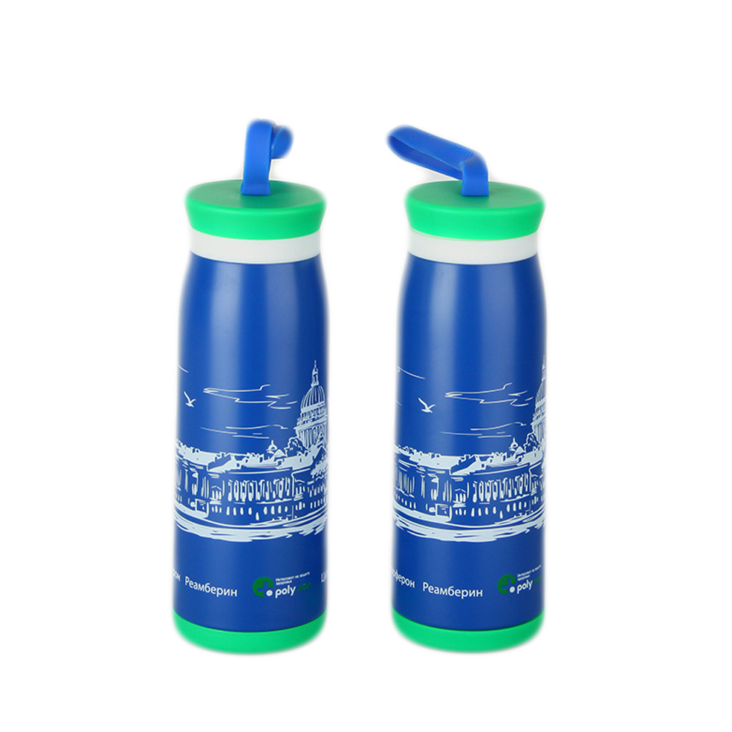 double wall stainless steel thermal vacuum drinking water bottle
